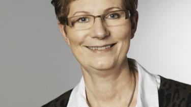 At genindføre gruppeeksamen nu ville være at sabotere den politiske proces siger Birgitte Josefsen (V).