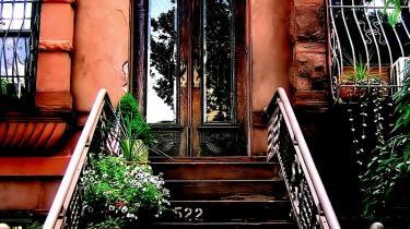 Essayisten fik installeret sig i Park Slope, Brooklyn, som er kendetegnet ved at være et fredsommeligt middelklassekvarter med unge forældre, konvojer af barnevogne og 'overfyldte sandwiches'.