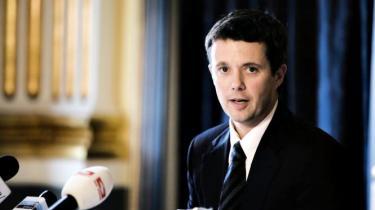 Menneskerets-organisationer opfordrer kronprins Frederik til at bruge sin position til at fremme menneske-rettighederne i Kina forud for OL