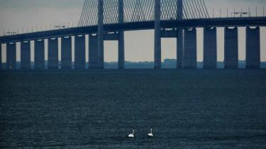 Når der skal bygges en bro som Øresundsbroen her, får ingeniører til opgave at fortælle politikerne, hvordan de på forskellige måder kan nå målet og til hvilken pris. Samme spørgsmål bliver ikke stillet, når det drejer sig om ombygningen af vores energisystemer.