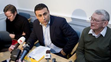 Naser Khader havde langt ind i medie-branchen rygvind til sit store forvandlings-nummer. Men den nyslåede partileder havde svært ved at håndtere modvinden.
