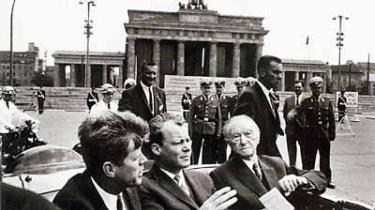 Berlin har fået sit eget museum om The Kennedys, ikke bandet Dead Kennedys, men politikkens første popstjerner