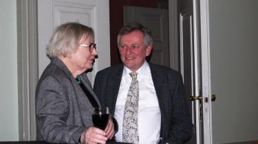 Et sjældent gensyn med Inger Christensen samt en håndfuld personlige anekdoter var nogle af højdepunkterne, da Søren Ulrik Thomsen torsdag aften var vært for et digtoplæsningsarrangement i Møstings Hus på Frederiksberg
