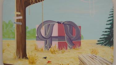"""Han inspireres hverdagen - af en bil der bakker eller toppen af et grantræ. Kunstnerens poesibog har talt med Rasmus Bjørn, som er aktuel med udstillingen """"Paradise Valley"""" på Mogadishni CPH"""