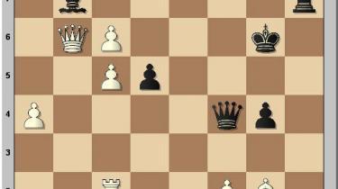 Det store skakshow i Nice er skudt i gang