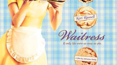Kønne Keri Russell er det charmerende omdrejningspunkt i skuespillerinden og instruktøren Adrienne Shellys sidste film, det fine, lille komediedrama Waitress