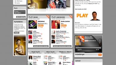 Kunder hos TDC kan downloade alle de hits, de har lyst til, men musikken er låst til computeren, og skifter kunden abonnement, så ryger musiksamlingen
