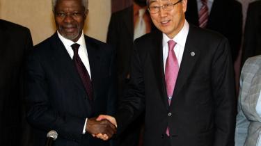 FN-s tidl. generalsekretær Kofi Annans vision var, at FN-s Menneskeretsråd skulle rumme medlemmer, der helhjertet bakkede op om menneskerettighederne. Det lykkedes ikke.