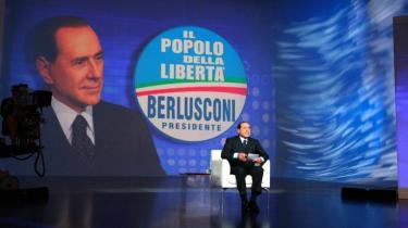Tal fra valgstedsmålinger siger, at Silvio Berlusconi er på vej mod atter at blive premierminister i Italien. Hans modkandidat, Centrum-venstre-lederen Walter Veltroni, mener på basis af prognoser at have tabt valget.