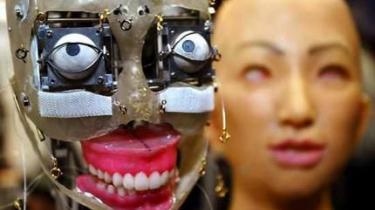 Japanerne har længe forsket i at udvikle robotter, der kan tage sig af gamle mennesker. Nu melder EU sig også på banen.