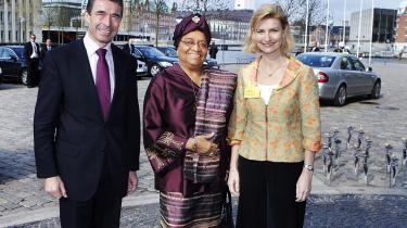 Information mødte Liberias præsident, Ellen Johnson-Sirleaf, da hun var i København. Hun går under navnet -jernladyen-, men vægter selv tolerance og følsomhed højt.