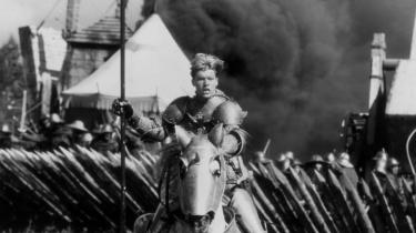 Jeanne d'Arc som hun blev spillet af Milla Jovovich i Luc Bessons' film 'The Messenger: The Story of Joan of Arc'.