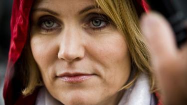 Helle Thorning-Schmidt kalder Dansk Folkepartis annoncen for -ubehagelig-.