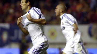 Intet hold i La Primera Division er mere forhadt på de kanter end hovedstadens Real Madrid. Kosmopolitanske bøsserøve. Pseudo-hollændere. Centralmagtens håndlangere. Forvoksede, hvide babyer, der ikke kan tåle lidt kasteskyts fra lægterne. Det føg med slogans som disse, da Real Madrid vandt over pamplonske Osasuna.