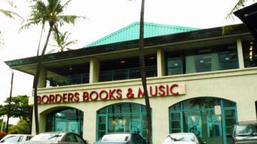 Hos Borders i Honolulu kan man donere en bog til den lokale high school.