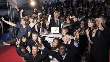 Ingen store overraskelser i Cannes, da Guldpalmen blev uddelt til fransk film i aftes