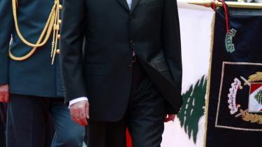 Libanons nyvalgte præsident Michel Suleiman hilses velkommen af det internaationale samfund.