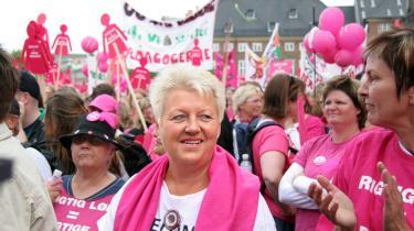 Sygeplejerskernes førstekvinde, Connie Kruckow, står som hovedansvarlig for, at sygeplejerskerne nu er endt i en situation, hvor de risikerer ikke at få en krone ud af indtil videre 46 dages arbejdsnedlæggelse. Kan hun overleve det?