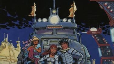 Gennem mere end 40 år har Jean-Claude Mézières og Pierre Christin, mændene bag science fiction-tegneserien 'Linda og Valentin', spejlet den virkelige verdens udvikling i hovedpersonernes oplevelser blandt fremmede væsener på fjerne planeter