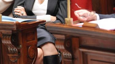 Den franske justitsminister, Rachida Dati, fik for alvor ørerne i maskinen, da hun kommenterede sagen om -jomfrubruden-.