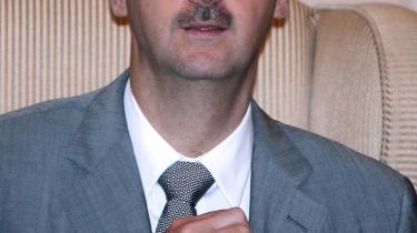 Den syriske præsident Bashar al-Assad er kommet til ære og værdighed igen.