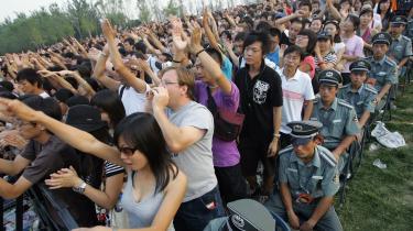 Stort publikum. Publikum er der, men hvis man tror, man kan komme til Kina og belære dem om noget, så er man gået galt i byen, siger de to danske musikeksportører.