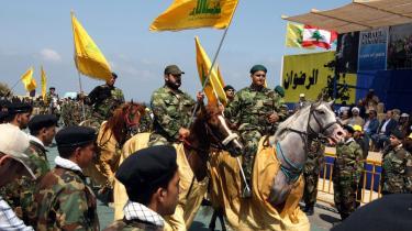 Det var Hizbollahs dag i går, hverken Libanons eller Israels. Og det demonstrerede bevægelsen med denne militærparade ved Naqura-grænseovergangen.