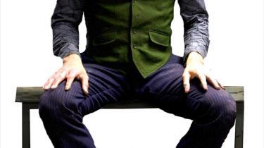 Heath Ledger som Jokeren i den nye Batman-film.
