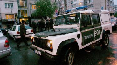 Bulgarien er så plaget af korruption, at EU, ifølge en lækket rapport, nu vil lukke for tilskudspengene. Billedet her er taget i Sofia i April, hvor chefen for det selskab, som står for vedligeholdelsen af reaktorerne på Kozloduy-atomkraftværket, blev skudt i sit hjem. Dusinvis af højtstående forretningsmænd, bandeledere og andre er blevet skudt på åben gade gennem de senere år, og EU har tidligere udtalt kraftig bekymring over organiseret kriminalitet og korruption.