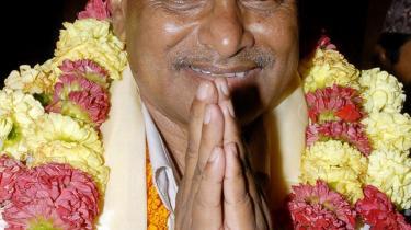Ram Baran Yadav blev i går valgt til præsident i Nepal efter flere måneders politiske magtkampe.