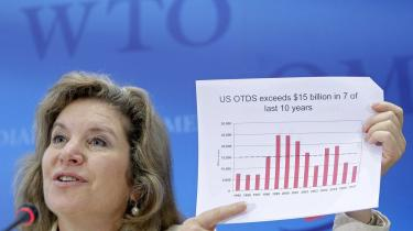 USA-s chefforhandler ved WTO-forhandlingerne, Susan Schwab, har tidligere lagt sig ud med sine kolleger.