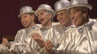 The Silver Belles. De var korpiger i 30-ernes Harlem. Nu danser de igen til stor jubel på trods af pacemakere og brækkede ben.