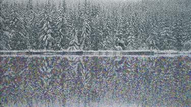 -Colorado Snow Effect 6-af Dan Hays, der har fundet en navnebrors digitale landskabs-snapshots og blæst dem op som malerier og lagt 600 timer i at male de mange felter.