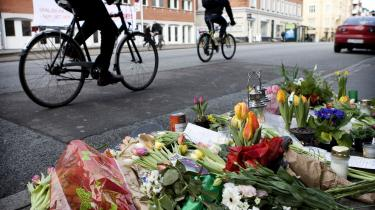 2008 ser ud til at blive et ekstremt blodigt år for cyklisterne på de danske veje. Alene i første halvår er 38 cyklister blevet dræbt i trafikken, bl.a. her på H.C. Ørstedsvej i København, hvor to cyklister i januar blev dræbt af en flugtbilist.