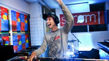 Den seks dage lange elektroniske musikfestival Strøm blev i den forgangne uge afholdt for anden gang i København. Her fra åbningen i Ostelageret i Kødbyen