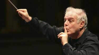 Et ildebefindende gav drama i Tivolis Koncertsal mandag, da West-Eastern Divan Orchestra spillede, ledet Daniel Barenboim. Arkiv