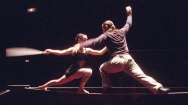 De franske linedansere fra Les Colporteurs var den største oplevelse på årets nycirkusfestival.