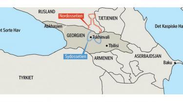 Rusland anerkendte i går officielt de to georgiske udbryderrepublikker Sydossetien og Abkhasien og blev mødt med en storm af protester