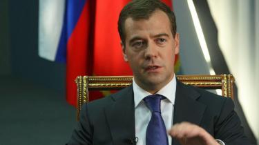Den russiske præsident, Dmitrij Medvedev, har været en mand i vælten på det seneste. Med indtoget i Georgien har russerne fået øjnene op for omverdenen