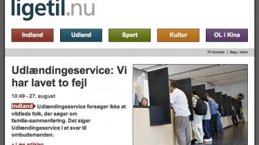 500.000 voksne danskere har svært ved at læse en almindelig nyhedsartikel i en avis. Nu kan de følge dagens nyheder i ny netavis, designet for usikre læsere