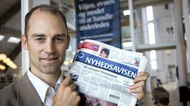Medarbejderne på Nyhedsavisen har fået at vide, at avisen lukker. Konkurrenterne fra MetroXpress A/S og Berlingske Media synligt lettede over beslutningen
