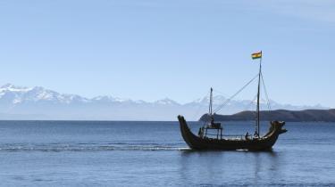 Verdnes begyndelse. Det er intet under, at inkaerne troede på, at det var søens kolde vande, der havde givet kimen til inkarigets fremkomst.