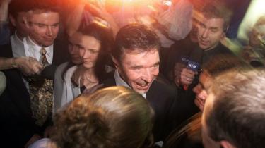Anders Fogh Rasmussens sejr ved valget i 2001 blev skelsættende og spiller en vigtig rolle i 'Kampen om sandhederne'.