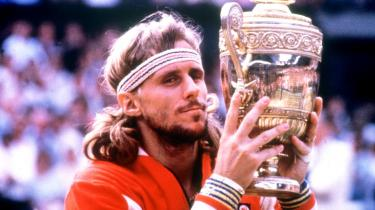 Den svenske tennisstjerne Björn Borg vinder Wimbledon i 1979, for fjerde år i træk.