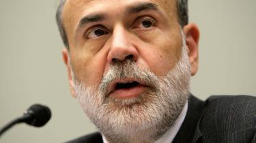 USA-s nationalbankdirektør, Ben Bernanke, har - belært af erfaringen - mistet sin ungdoms tro på monetarismen.