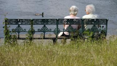 Tyskland har en aldrende befolkning og med rekordlave fødselstal, tyder det på problemer i fremtiden.