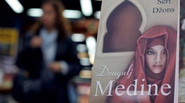 'The Jewel of Medina' kunne allerede i sidste måned købes i serbiske boglader.