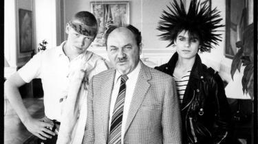 Fint besøg i Statsministeriet i starten af 80-erne.