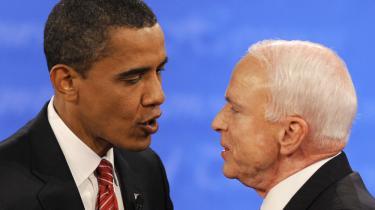 Et stort flertal af amerikanerne mener, at Barack Obama vandt nattens tv-debat. Det viser en national undersøgelse foretaget umiddelbart efter debattens afslutning