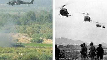 Berlingske Tidende og Jyllands-Posten støttede helhjertet, at USA gik ind i Vietnamkrigen i 1964. Senere viste det sig, at det skete på grundlag af en løgn. De to aviser støttede lige så helhjertet, at Danmark i 2003 gik i krig mod Irak sammen med USA. Også det skete på en løgn
